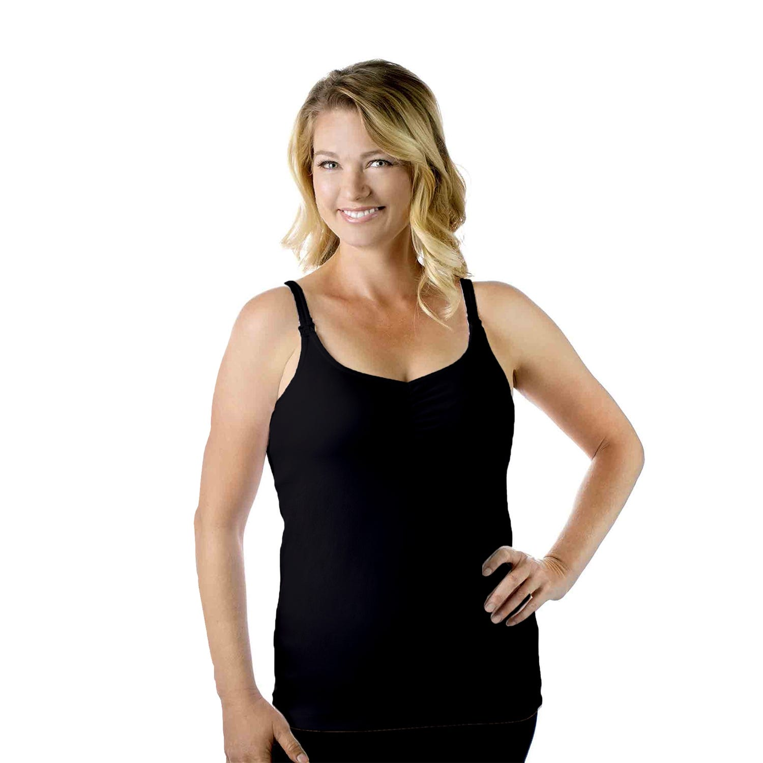 Rumina Classic Coverage Tank In Black, Size X-Large